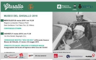 IN REGIONE LOMBARDIA SCATTA IL MUSEO DEL GHISALLO 2019
